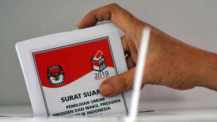 surat suara pemilu
