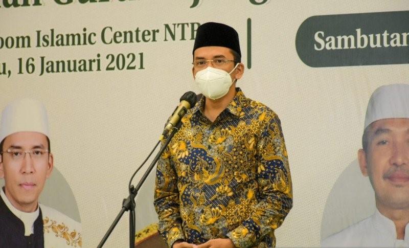 Tuan Guru Bajang (TGB) Zainul Majdi.