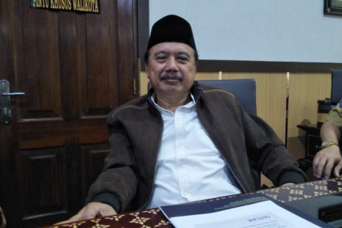 Sekretaris Daerah (Sekda) Kota Mataram H Effendi Eko Saswito