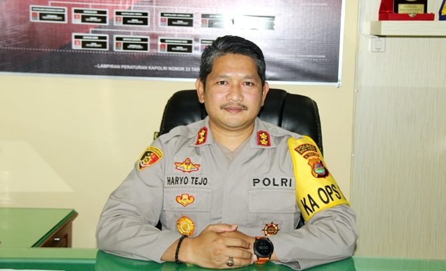 Kapolres Bima Kota AKBP Haryo Tedjo Wicaksono. (Visioner Berita Bima)
