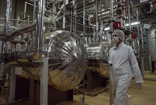 Proyek pengayaan uranium Iran. (The Times of Israel)