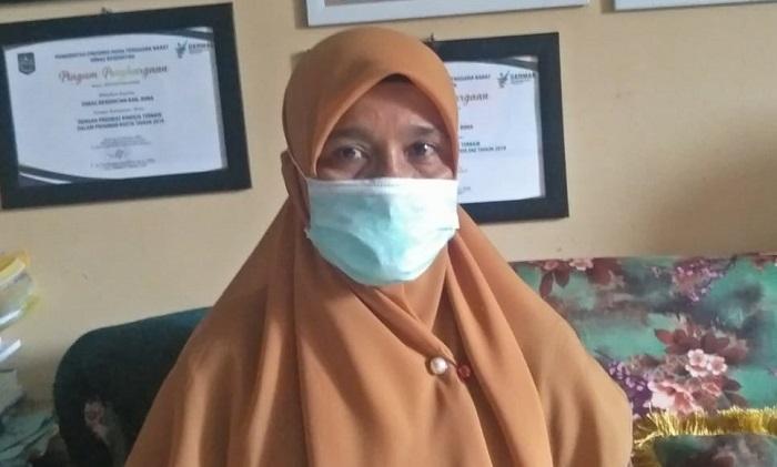 Kepala Seksi Surveilans dan Imunisasi Dinas Kesehatan Kabupaten Bima, Khairunnisa. (Arif Sofyandi/Ntb News)
