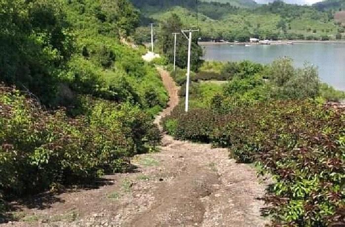 Potret jalan lintas desa di Kecamatan Langgudu. (Akbar/Ntb News)