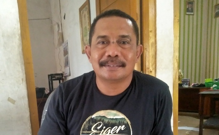 Kepala Desa Leu, Muhammad Taufik. (Ntb News/Arif Sofyandi)
