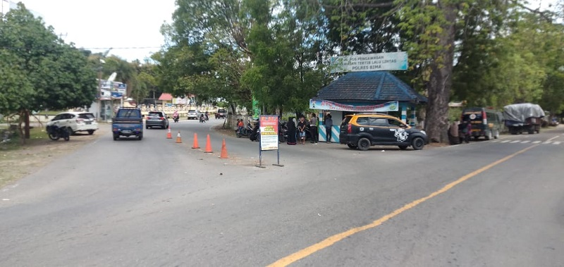 Lokasi penganiayaan terhadap Pengurus Muhammadiyah Dompu. (Istimewa)