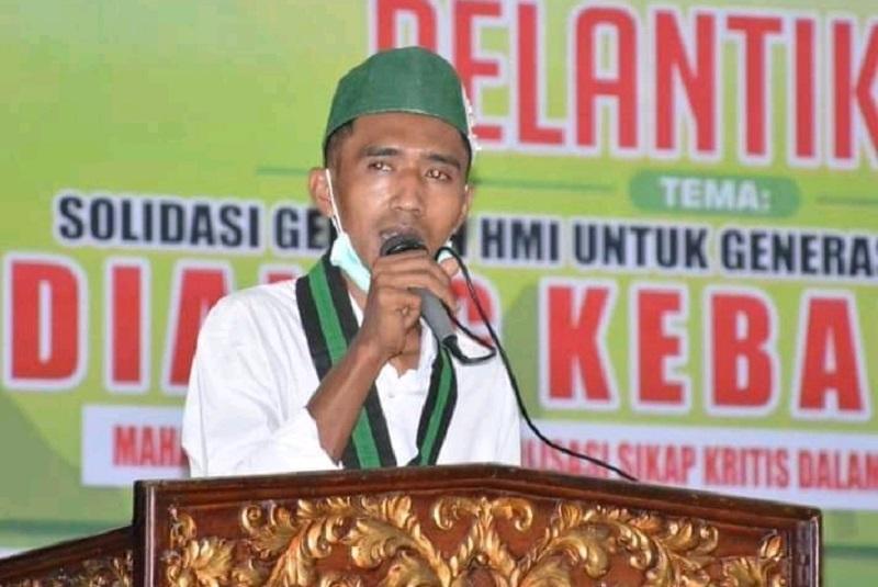 Ketua Umum HMI MPO Cabang Bima, Rian Risty Fauzi. (Istimewa)