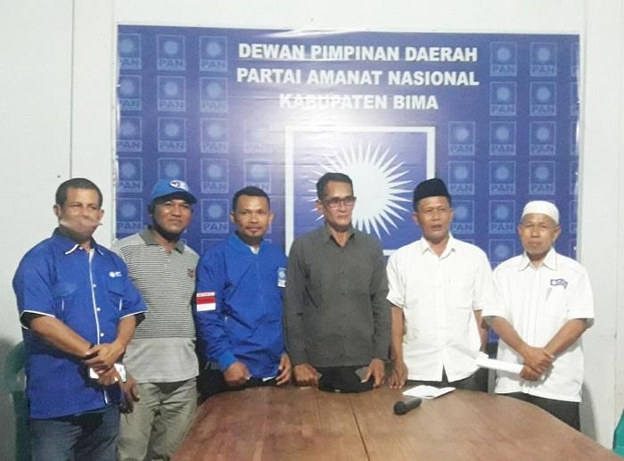 Unsur pengurus DPD PAN Kabupaten Bima. (Istimewa)