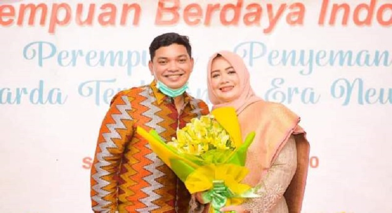 Muhammad Putera Ferryandi dan Indah Dhamayanti Putri. (Istimewa)