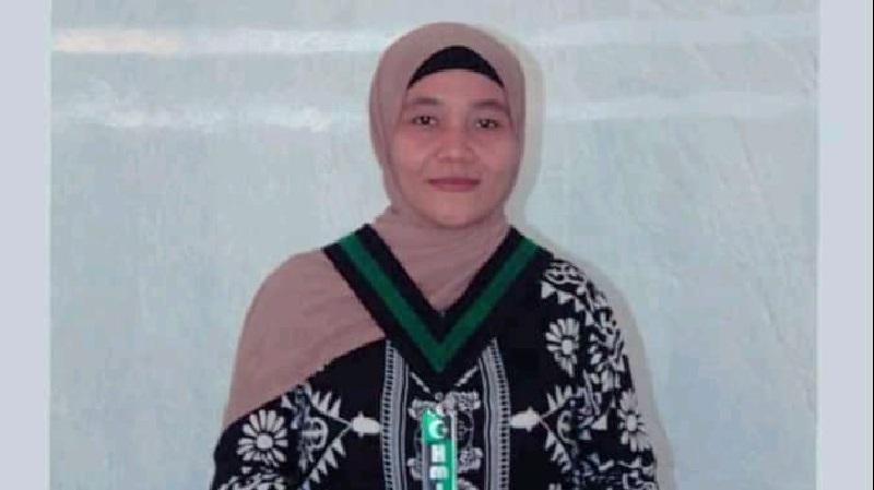 Ketua Umum Kohati Cabang Bima, Siti Rahma. (Dok. Pribadi)