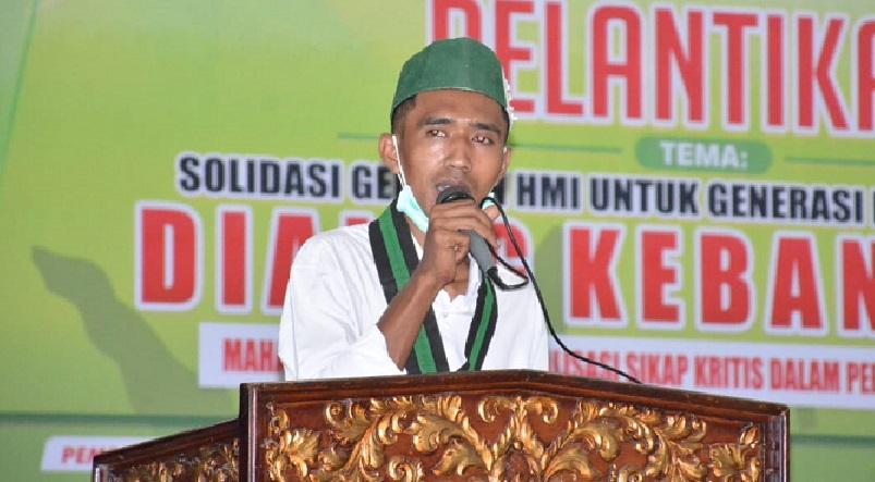 Ketua Umum HMI-MPO Cabang Bima, Rian Risty Fauzi. (Dok. Ntb News)
