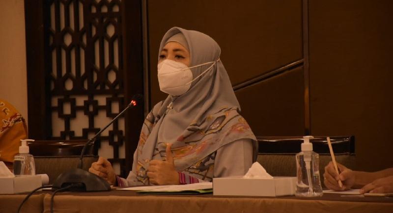 Wakil Gubernur NTB Siti Rohmi Djalilah. (Metro NTB)