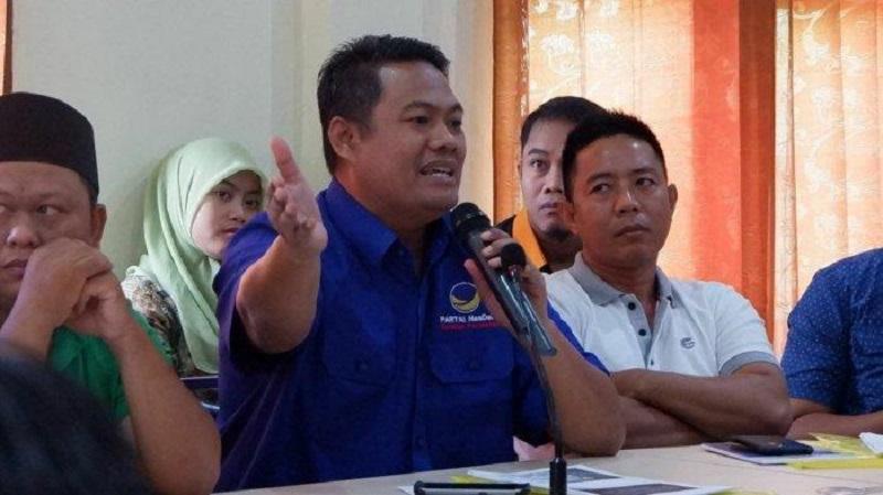 Ketua DPD Partai NasDem Kukar, Marwan. (Istimewa)